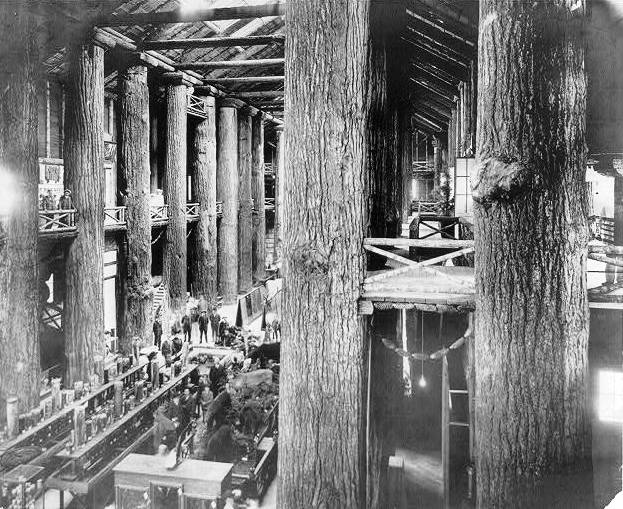 Old World Forestry Building Interior